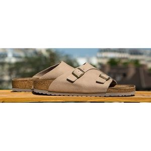 New Birkenstock Zurich Leather Sandals; 38 R